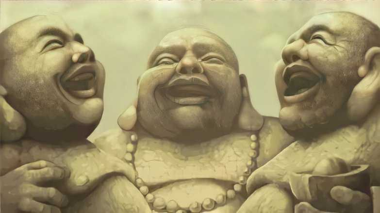 The Three Laughing Monks An Inspirational Story