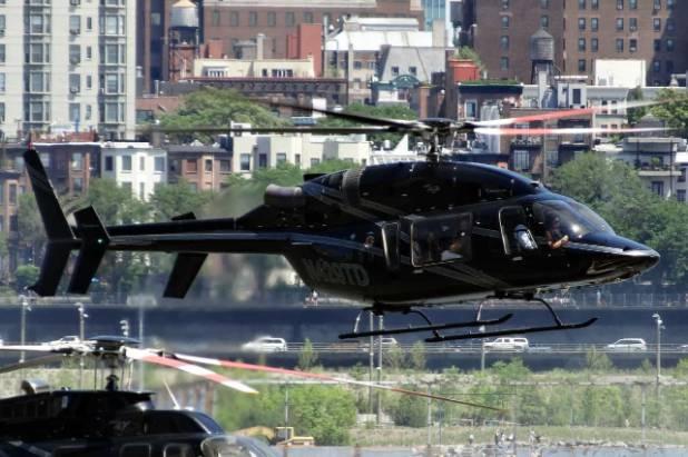 Avinash Bhosale Helicopter